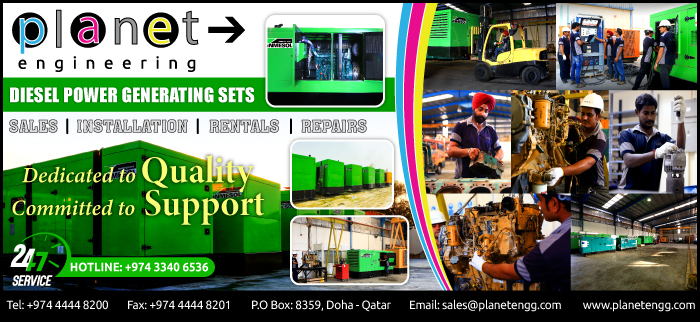 GENERATOR SUPPLIERS PLANET TRADING & TRANSPORTATION WLL SUPPLIERS IN DOHA QATAR CL3H