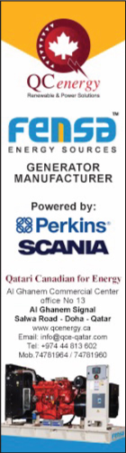 GENERATOR SUPPLIERS QATARI CANADIAN FOR ENERGY & ELECTRICAL INDUSTRIES SUPPLIERS IN DOHA QATAR