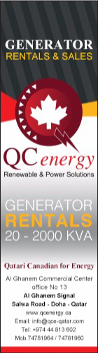 GENERATORS - HIRE QATARI CANADIAN FOR ENERGY & ELECTRICAL INDUSTRIES SUPPLIERS IN DOHA QATAR WSRBBA