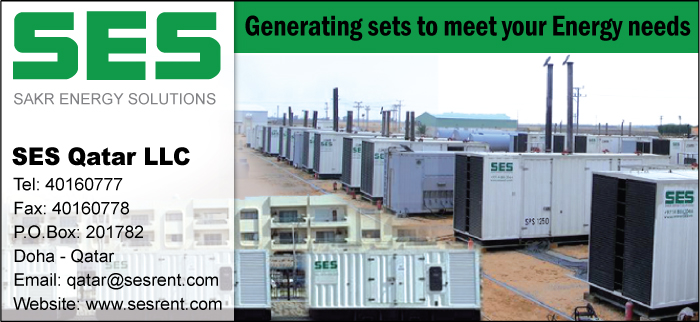 GENERATORS - HIRE SES QATAR LLC SUPPLIERS IN DOHA QATAR
