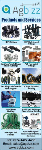 HDPE PIPES & FITTINGS AGBIZZ TRADING & ENGINEERING SERVICES SUPPLIERS IN DOHA QATAR WSRBBA