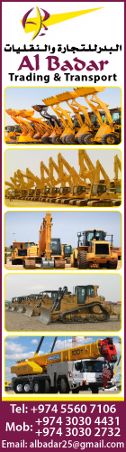 HEAVY EQUIPMENT - RENTALS AL BADAR TRADING & TRANSPORT SUPPLIERS IN DOHA QATAR