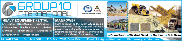 HEAVY EQUIPMENT - RENTALS GROUP 10 INTERNATIONAL SUPPLIERS IN DOHA QATAR