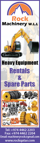 HEAVY EQUIPMENT - RENTALS ROCK MACHINERY WLL SUPPLIERS IN DOHA QATAR WSLBBA