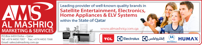 HOME APPLIANCES AL MASHRIQ MARKETING & SERVICES SUPPLIERS IN DOHA QATAR CLPL