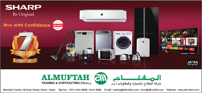 HOME APPLIANCES AL MUFTAH TRADING & CONTG CO WLL ( ELECTRONICS / HOME APPLIANCES DIV ) SUPPLIERS IN DOHA QATAR CL3H