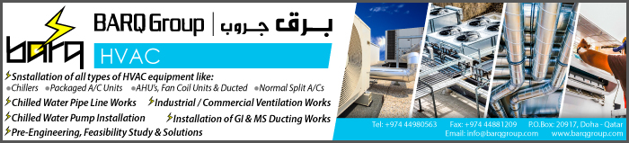 HVAC CONTRACTORS BARQ HVAC SUPPLIERS IN DOHA QATAR CLPL