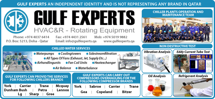 HVAC MAINTENANCE CONTRACTORS & SERVICES GULF EXPERTS ELECTROMECHANICAL CONTRACTING & TRADING WLL SUPPLIERS IN DOHA QATAR