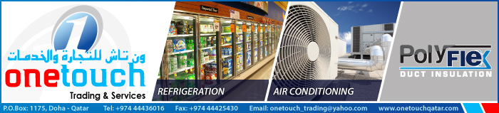 HVAC PRODUCTS ONE TOUCH TRADING & SERVICES SUPPLIERS IN DOHA QATAR CLPL