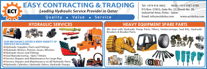 HYDRAULIC EQUIPT & SUPPLIES EASY CONTRACTING & TRADING SUPPLIERS IN DOHA QATAR CL1/4H