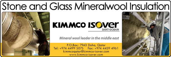 INSULATION MATERIAL SUPPLIERS KIMMCO ISOVER SUPPLIERS IN DOHA QATAR CL1/4H