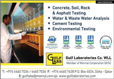 LABORATORIES - MATERIAL TESTING GULF LABORATORIES CO WLL SUPPLIERS IN DOHA QATAR