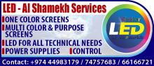 LED - AL SHAMEKH SERVICES SUPPLIERS IN DOHA QATAR