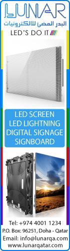 LED SCREENS LUNAR LIGHTS & ELECTRONICS. SUPPLIERS IN DOHA QATAR