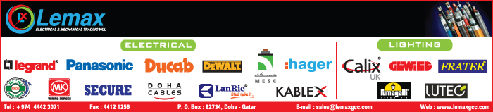LIGHTING SYSTEMS & EQUIPT LEMAX GROUP OF COMPANIES SUPPLIERS IN DOHA QATAR CLPL