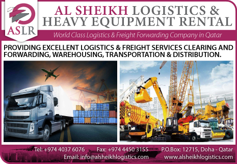 LOGISTICS SERVICES AL SHEIKH LOGISTICS & HEAVY EQUIPMENT RENTAL SUPPLIERS IN DOHA QATAR CL2H