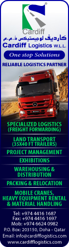 LOGISTICS SERVICES CARDIFF LOGISTICS WLL SUPPLIERS IN DOHA QATAR WSRBBA