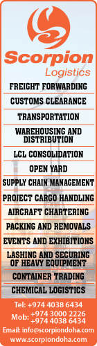 LOGISTICS SERVICES SCORPION LOGISTICS SUPPLIERS IN DOHA QATAR WSLBBA