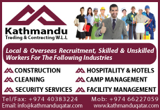 MANPOWER SUPPLIERS KATHMANDU TRADING & CONTRACTING WLL SUPPLIERS IN DOHA QATAR