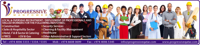 MANPOWER SUPPLIERS PROGRESSIVE TRADING & CONTRACTING WLL SUPPLIERS IN DOHA QATAR CLPL