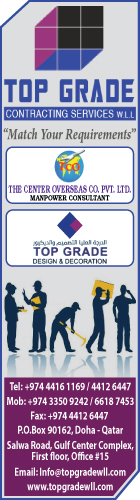 MANPOWER SUPPLIERS TOP GRADE CONTRACTING & SERVICES WLL SUPPLIERS IN DOHA QATAR