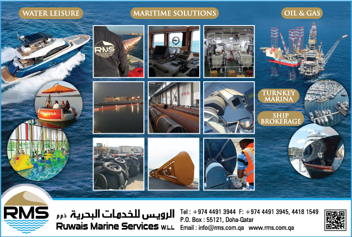 MARINE & OFFSHORE - CONTRACTORS RUWAIS MARINE SERVICES WLL SUPPLIERS IN DOHA QATAR CL1/2H