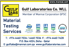 MATERIAL TESTING LABORATORIES GULF LABORATORIES CO WLL SUPPLIERS IN DOHA QATAR