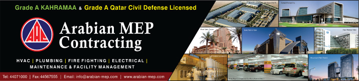 MEP CONTRACTORS ARABIAN MEP CONTRACTING SUPPLIERS IN DOHA QATAR CLPL