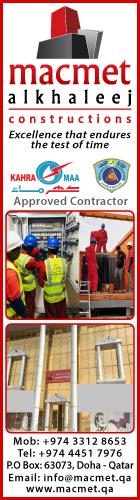 MEP CONTRACTORS MACMET ALKHALEEJ CONSTRUCTIONS SUPPLIERS IN DOHA QATAR
