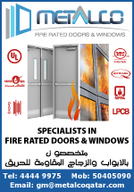 METALCO FIRE RATED DOORS & WINDOWS SUPPLIERS IN DOHA QATAR