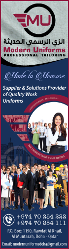 MODERN UNIFORMS SUPPLIERS IN DOHA QATAR