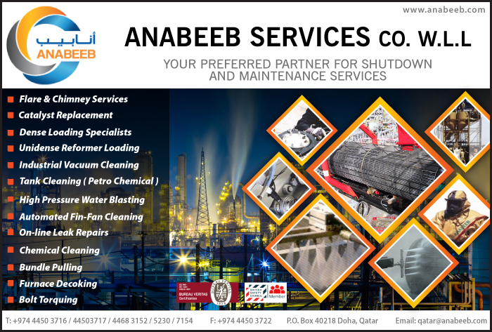 OILFIELD CONTRACTORS & SERVICES ANABEEB SERVICES CO WLL SUPPLIERS IN DOHA QATAR CL1/2H