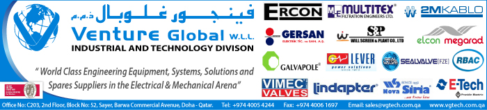 OILFIELD EQUIPT SUPPLIERS VENTURE GLOBAL WLL SUPPLIERS IN DOHA QATAR