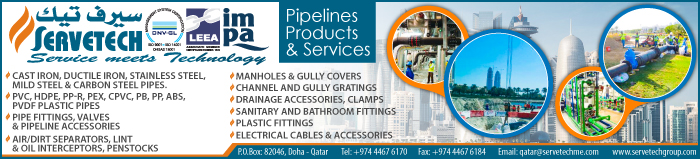 PIPE & PIPE FITTING SUPPLIERS ARBAB SERVETECH TRADING & CONTRACTING SUPPLIERS IN DOHA QATAR CLPL