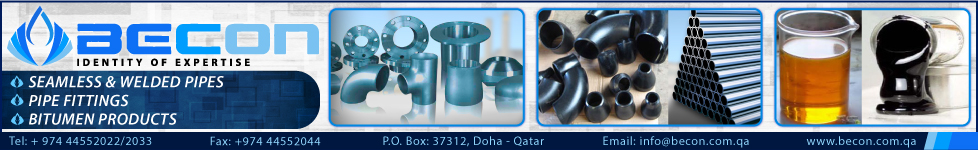 PIPE & PIPE FITTING SUPPLIERS BECON TRADING & CONTRACTING WLL SUPPLIERS IN DOHA QATAR WSTBBA