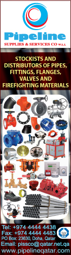 PIPES & ACCESSORIES PIPELINE SUPPLIES & SVCS CO WLL SUPPLIERS IN DOHA QATAR WSRBPC