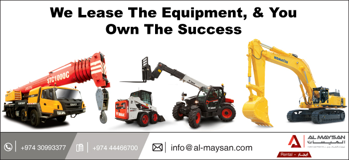 PLANT HIRE AL MAYSAN HEAVY EQUIPMENT SUPPLIERS IN DOHA QATAR CL3H