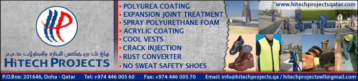 POLYUREA COATINGS HITECH PROJECTS TRADING & CONTRACTING WLL SUPPLIERS IN DOHA QATAR CLPL