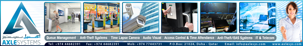 QUEUE MANAGEMENT SYSTEMS AXLESYSTEMS SUPPLIERS IN DOHA QATAR WSTBPC