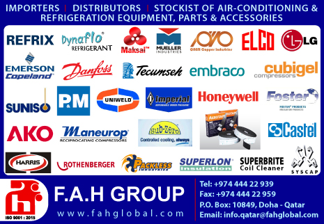REFRIGERANT GASES F.A.H GROUP WLL SUPPLIERS IN DOHA QATAR CL2H