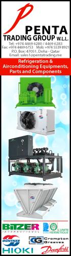 REFRIGERATION EQUIPT & SUPPLIES PENTA TRADING GROUP WLL SUPPLIERS IN DOHA QATAR WSLBBA