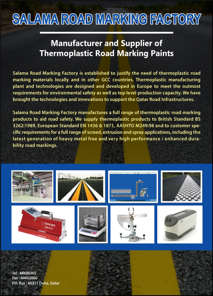 ROAD MARKING PAINT MFRS SALAMA ROAD MARKING FACTORY SUPPLIERS IN DOHA QATAR CLFP
