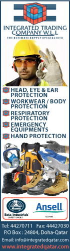 SAFETY PRODUCTS INTEGRATED TRADING CO WLL SUPPLIERS IN DOHA QATAR WSLBBA