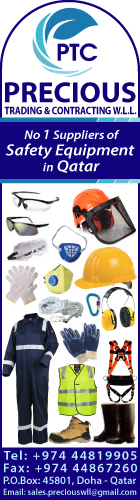 SAFETY PRODUCTS PRECIOUS TRADING & CONTRACTING WLL SUPPLIERS IN DOHA QATAR WSRBBA