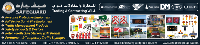 SAFETY PRODUCTS SAFEGUARD TRADING & CONTRACTING WLL SUPPLIERS IN DOHA QATAR CLPL