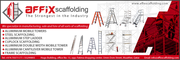 SCAFFOLDING SUPPLIERS AFFIX SCAFFOLDING WLL SUPPLIERS IN DOHA QATAR CL1/4H