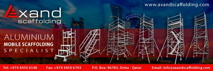 SCAFFOLDING SUPPLIERS AXAND SCAFFOLDING ( VIATECH ENGINEERING ) SUPPLIERS IN DOHA QATAR CL1/4H