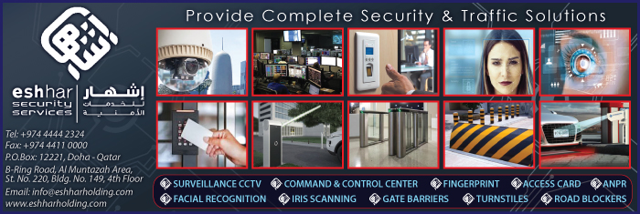 SECURITY SYSTEMS & SERVICES ESHHAR SECURITY SERVICES WLL SUPPLIERS IN DOHA QATAR CL1/4H