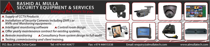 SECURITY SYSTEMS & SERVICES RASHID AL MULLA SECURITY EQUIPMENT & SERVICES SUPPLIERS IN DOHA QATAR CLPL