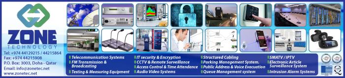 SECURITY SYSTEMS & SERVICES ZONE TECHNOLOGY WLL SUPPLIERS IN DOHA QATAR CLPL